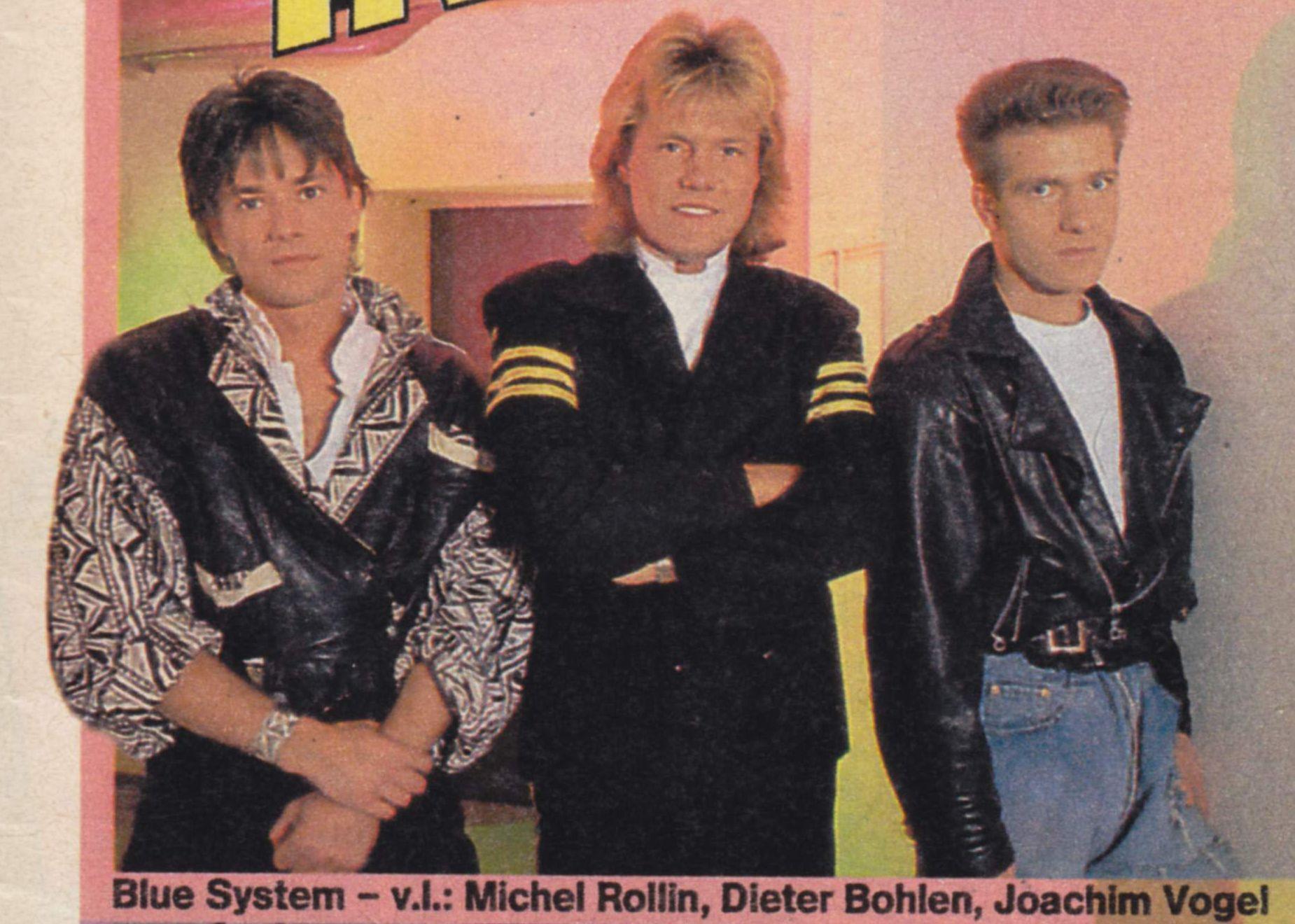 Joachim Vogel blue system 1987 1998